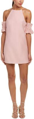 C/Meo Collective Cold-Shoulder Mini Dress