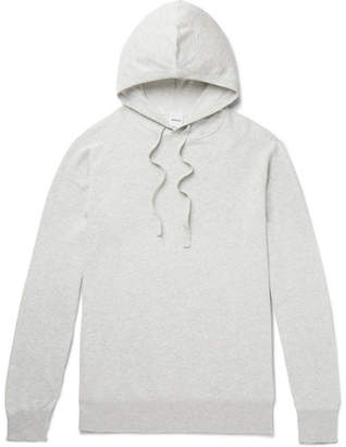 Aspesi Waffle-Knit Cotton Hoodie
