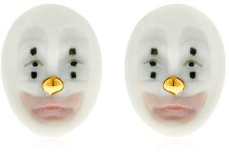 Lladro Kind Clown Earrings