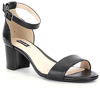 Alex Marie Soffiah Banded Ankle Strap Block Heel Dress Sandals $69.99 thestylecure.com
