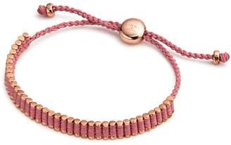 Links of London Mini Friendship Bracelet in Pink