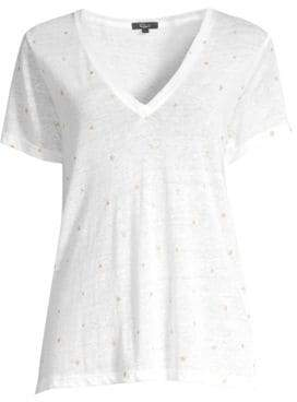 Rails Cara V-Neck Star Tee