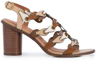Coach strappy high sandals