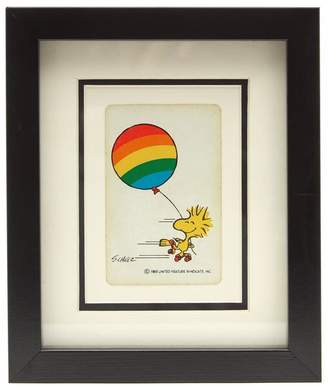 Vintage Playing Cards Woodhouse Rainbow Vintage Framed Playing Card