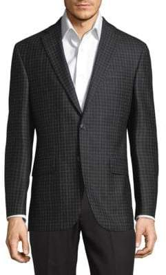 Jack Victor Check Wool Jacket