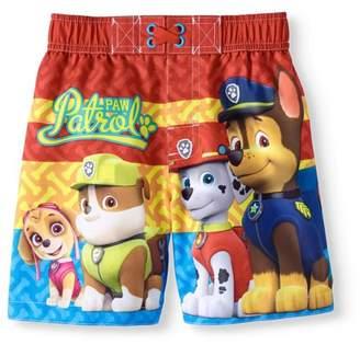 Trunks Paw Patrol Baby Toddler Boys' Swim Trunk Board Shorts