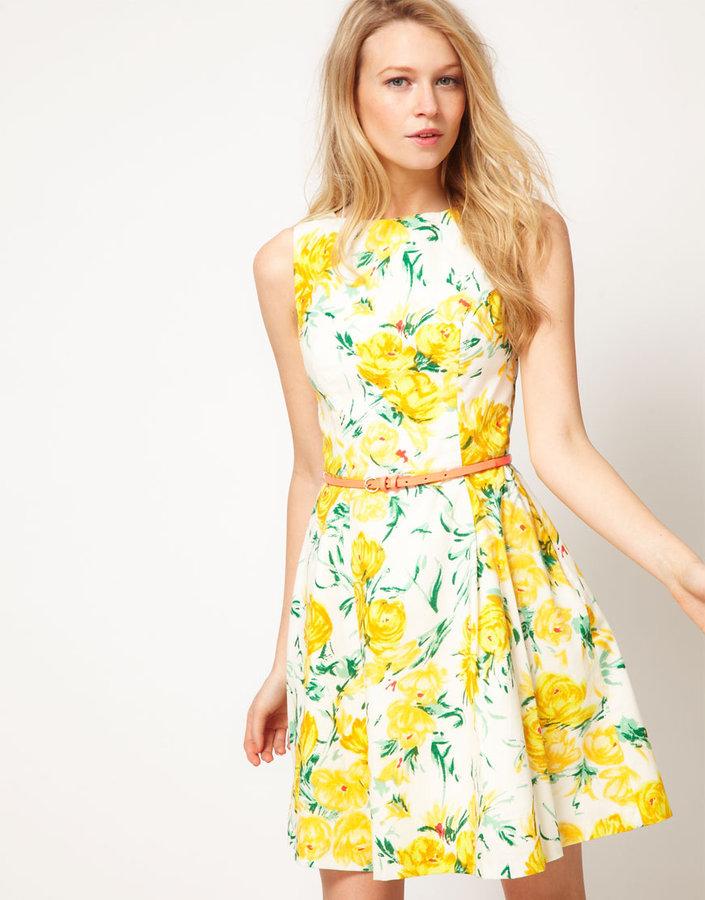 Oasis Vintage Rose Dress