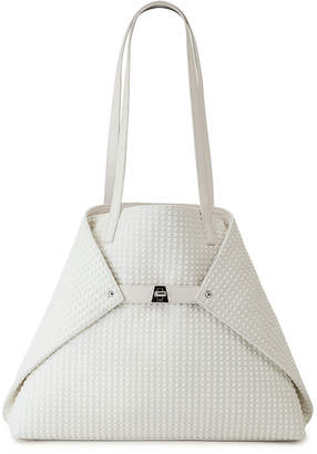Akris Ai Medium Techno Fabric Shoulder Bag