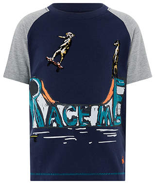 Monsoon Race Me Tee