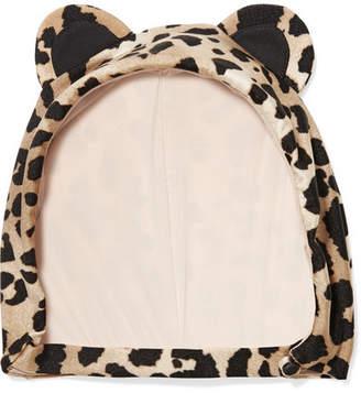 Charlotte Olympia Adriana Degreas Leopard-print Swim Cap - Leopard print