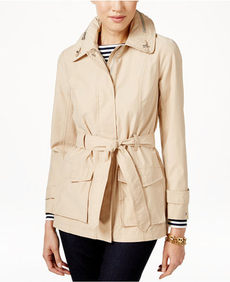 Tommy Hilfiger Belted Trench Coat $149.50 thestylecure.com