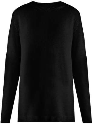 Raey Loose Fit Cashmere Sweater - Womens - Black