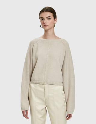 Creatures of Comfort Batwing Pullover Sweater in Oatmeal
