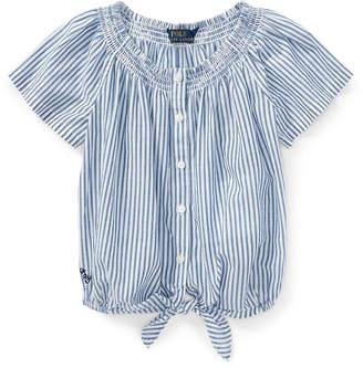 Ralph Lauren Striped Cotton Top