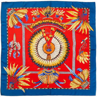 Hermes Brazil By Laurence Bourthoumieux Silk Scarf