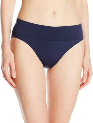 Seafolly Women's Roll Top Pant Bikini Bottom