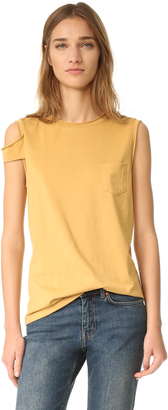 Helmut Lang Strappy Top $140 thestylecure.com
