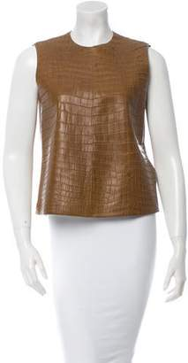 Hermes Crocodile Top