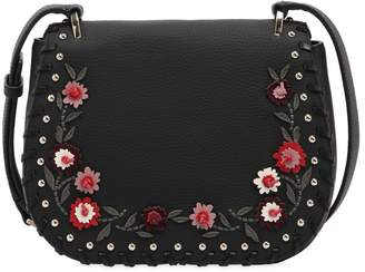Kate Spade Tressa Floral Appliqués Leather Bag