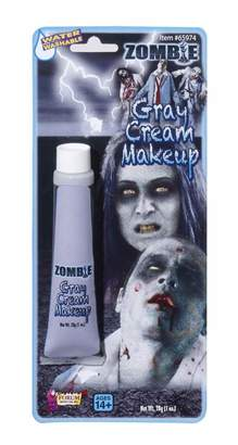 Rubie's Costume Co Zombie Tube (Grey) Makeup Accessory