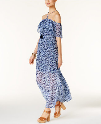 MICHAEL Michael Kors Off-The-Shoulder Maxi Dress $175 thestylecure.com