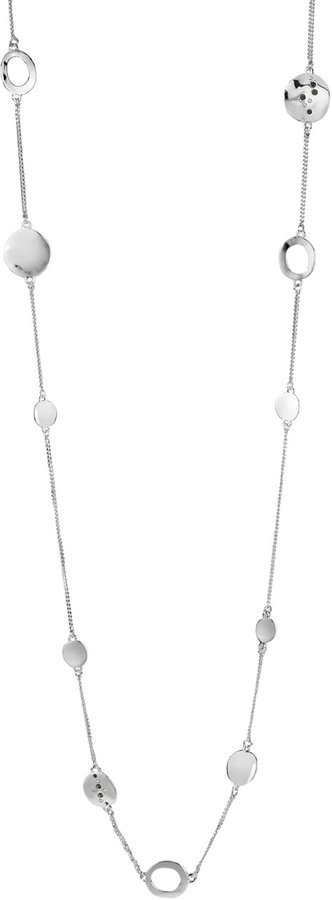 Kenneth Cole NEW YORK Silver-Plated Illusion Necklace