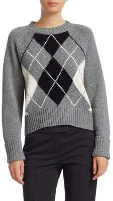 Akris Punto Wool & Cashmere Argile Sweater