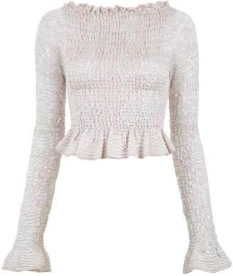 Cecilia Prado Lívia tricot cropped top