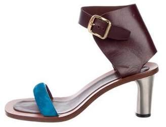 Celine Leather Bam Bam Sandals