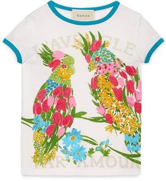 Children's corsage print t-shirt $145 thestylecure.com