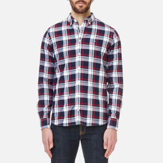 Tommy Hilfiger Men's Inger Checked Long Sleeve Shirt