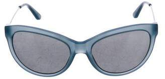 Tory Burch Cat-Eye Mirrored Sunglasses
