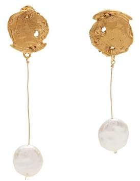 Alighieri - The Elusive Dream Gold Plated Earrings - Womens - Gold