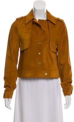 Frame Short Suede Jacket