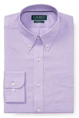 Lauren Ralph Lauren Classic-Fit No-Iron Dress Shirt