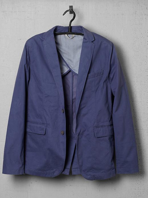 Ben Sherman Garment Washed Blazer