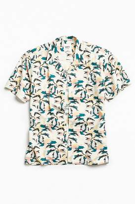 Katin Palm Tree Short Sleeve Button-Down Shirt