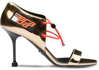 Prada elasticated cords sandals