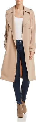 Theory Oaklane Admiral Crepe Trench Coat - 100% Exclusive