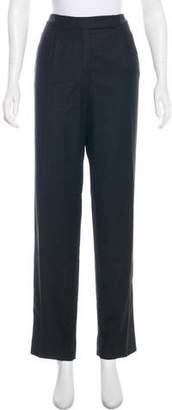 Valentino Virgin Wool High-Rise Pants