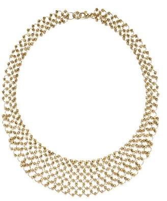 Bloomingdale's 14K Yellow Gold Shimmering Beaded Bib Necklace - 100% Exclusive