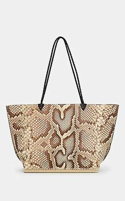 Altuzarra Women's Espadrille Large Python Tote Bag - Natural