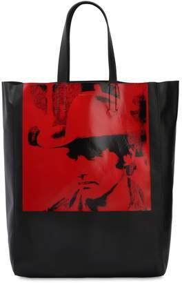 Calvin Klein Dennis Hopper Leather Tote Bag