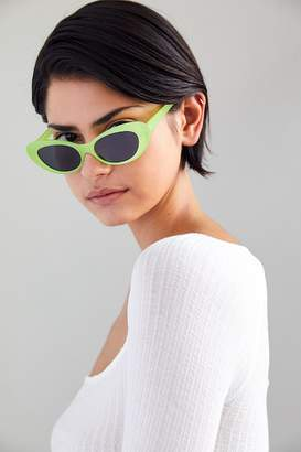 Urban Outfitters Rebel Rounded Cat-Eye Sunglasses