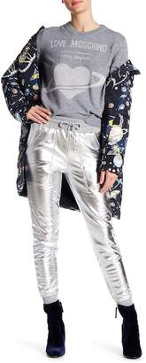 Love Moschino Metallic Jogger Sweatpants
