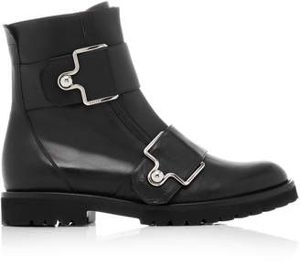 Bally Gabiria Leather Moto Boot