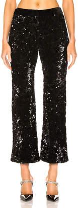 Alexis Pace Crop Pant in Black Sequins | FWRD