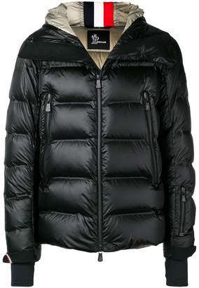 Moncler zipped hooded jacket