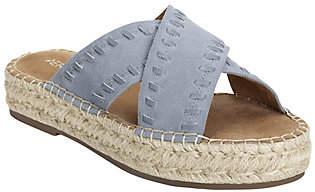 Aerosoles Chunky Platform Sandals - Rose Gold