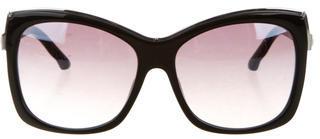 Swarovski Crystal-Embellished Esmeralda Sunglasses $125 thestylecure.com